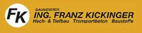 Hoch- und Tiefbau Transportbeton, Baustoffe Baumeister Ing. Franz Kickinger Gesellschaft m.b.H.