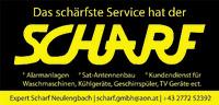Expert Scharf Neulengbach | Scharf Gesellschaft m.b.H. | Unternehmung für Elektrotechnik, Radio- und Fernsehtechnik | Das schärfste Service hat der Scharf