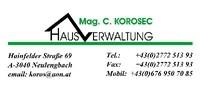 Mag. Christoph Korosec | Immobilien