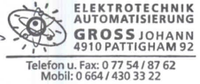 Elektrotechnik Automatisierung Gross Johann