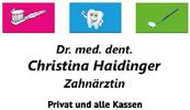 Dr.med.dent. Christina Haidinger | Zahnärztin Privat und alle Kassen