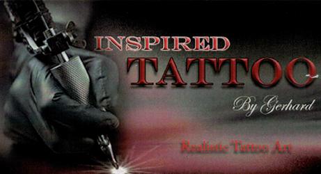 Inspired Tattoo - Gerhard Moser