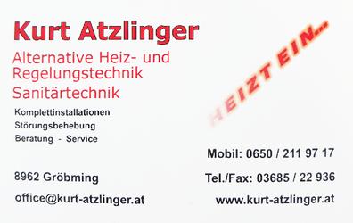 Kurt Atzlinger | Heiz- und Sanitärtechnik, Badsanierungen, Solaranlagen und Komplettinstallationen