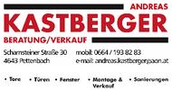 Andreas Kastberger | Beratung & Verkauf | Tore - Türen - Fenster