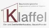Baumeister Bernhard Klaffel | Ein- und Zweifamilienhausbau, Baustoffhandel | Baumeistergewerbe eingeschränkt auf ausführende Tätigkeiten