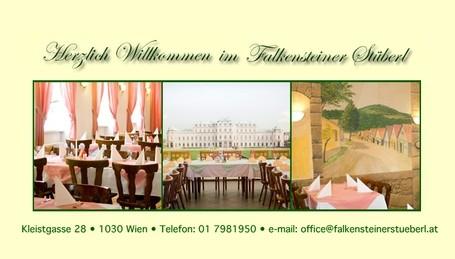 Falkensteiner Stüberl