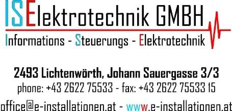 ISElektrotechnik GmbH.