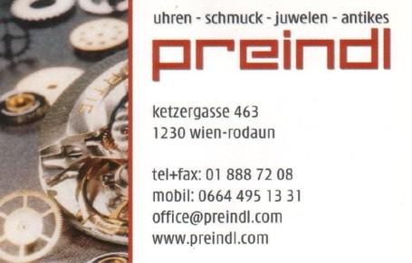 Uhren - Schmuck - Atikes Preindl