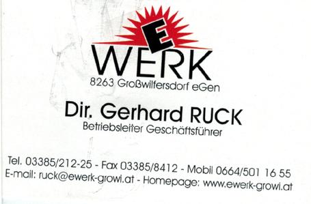 E-Werk | Feistritzthaler Elektrizitätswerk eGen