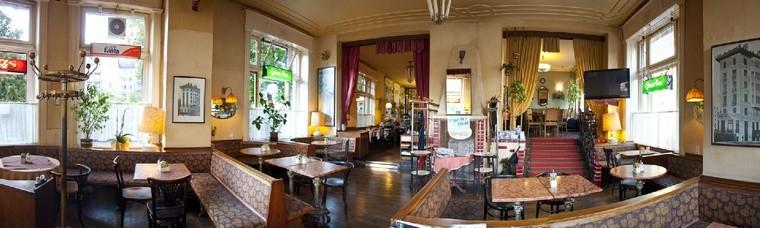 Traditionscafe seit 110 Jahren in Wien.