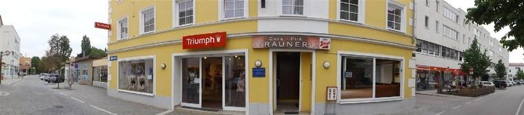 Außenansicht Praxis-Lage Bahnhofstraße