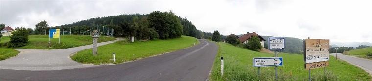 Zufahrt Gasthaus