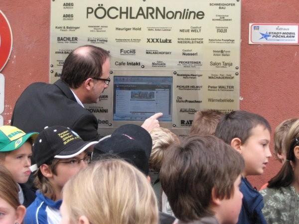 Eröffnung Stadtausstellung Pöchlarn