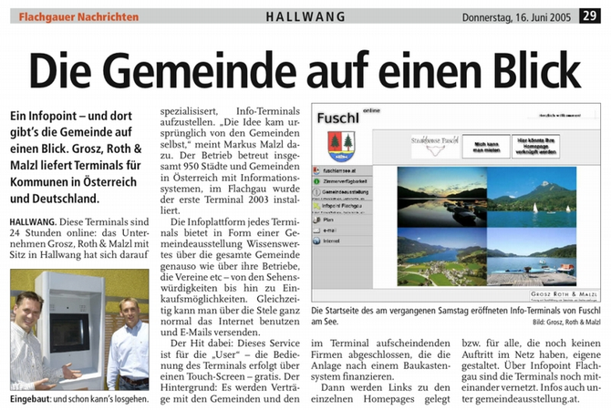 Informationszentrum Flachgau