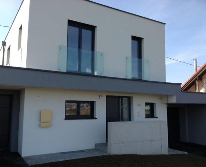 Französischer Balkon Jemalux Glas Metall Und