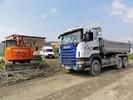LKW Scania G440 3-achser mit Heckladekran Fassi F165