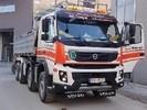 LKW Volvo FMX 4-Achser Kipper