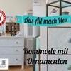How to: Kommode mit Ornamenten I IKEA Hack I Deko Inspirationen I Homemade by Patricia