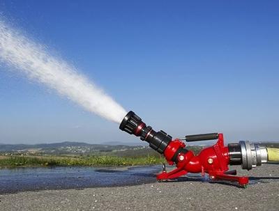 17.08.2016: Tragbarer Wasserwerfer