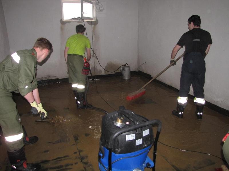 Einsätze: Überflutungen