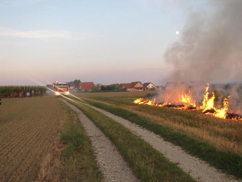 Übung Flächenbrand