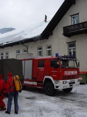FuB-EINSATZ: Schneedruckkatastrophe in Bad Ischl