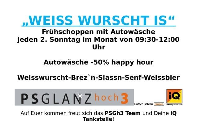Weiss Wurscht is