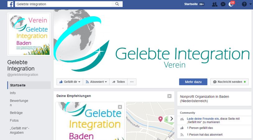 Wir sind nun auch in Facebook!