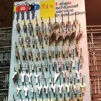 über 400 Schlüssel auf Lager