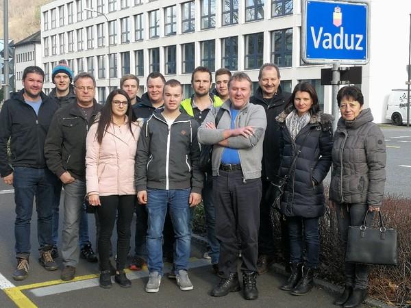 HOVAL: Betriebsausflug nach Liechtenstein
