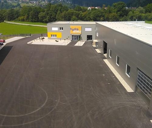 Hydrosnow - Neuer Betriebsstandort in St. Barbara im Mürztal