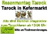 Rosenmontag TAROCK IN KEFERMARKT