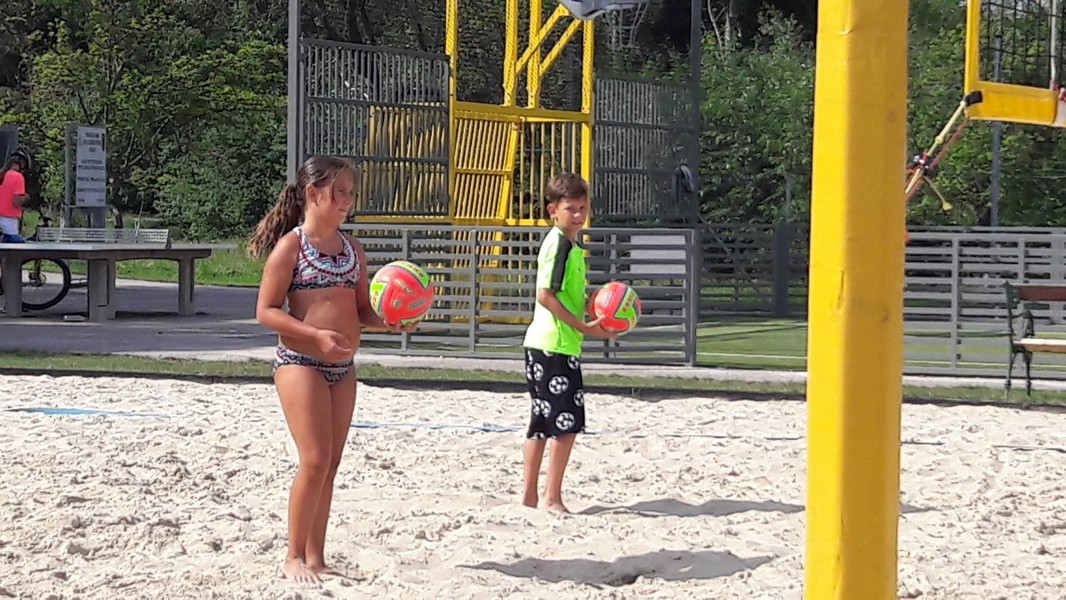 ASH - Ferienpassaktion 2019 - Beach-Volleyball-Workshop