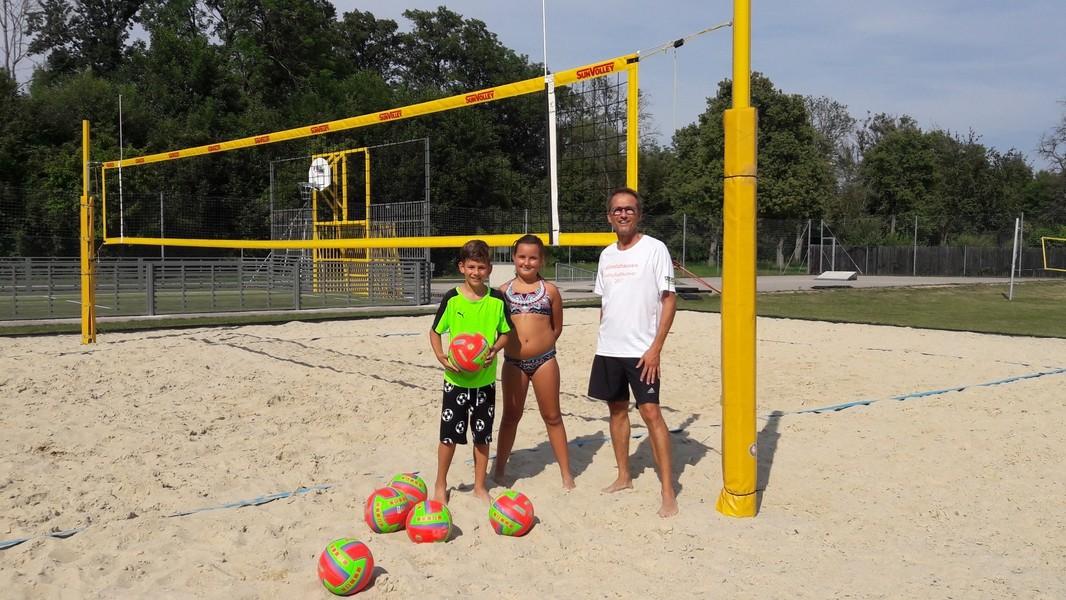 ASH - Ferienpassaktion 2019 - Beach-Volleyball-Workshop