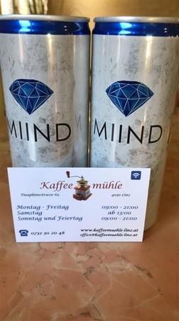 MIIND, ein österreichisches Erfrischungsgetränk