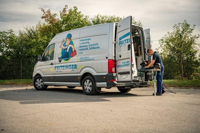 Servicewagen: prompte Hilfe