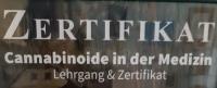 Zertifikat für Cannabinoid Therapie