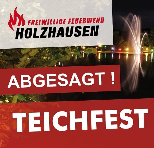 Absage Teichfest 2020