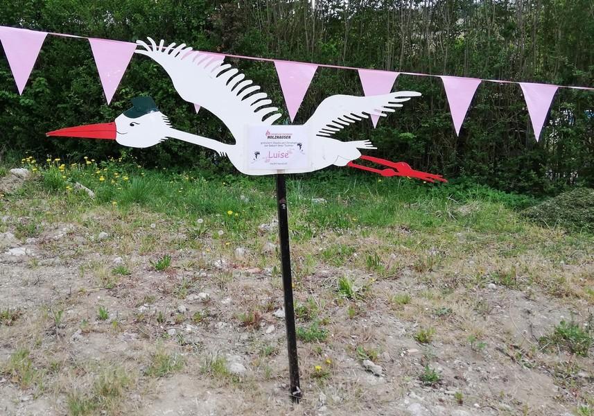 Storch aufstellen Christoph Eichinger