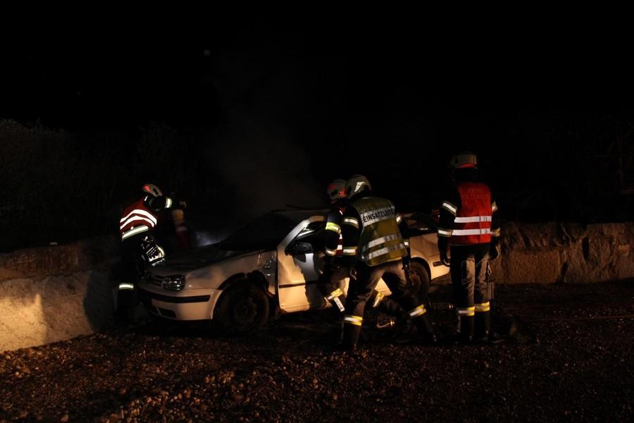 Übung: Verkehrsunfall