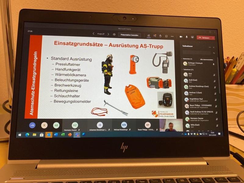 Online-Schulung: Atemschutzeinsatz Grundregeln