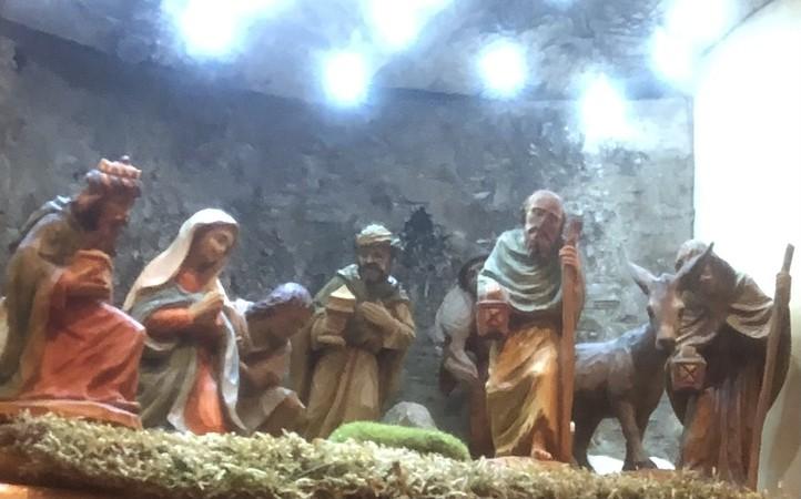 Alle warten auf das Christkind