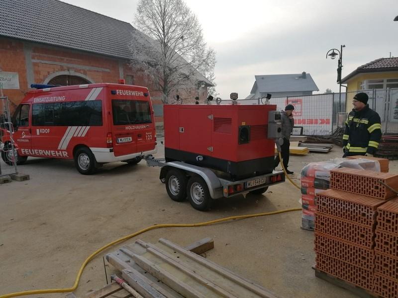 Einsatz: Notstromversorgung