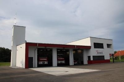 Feuerwehrhaus Neu