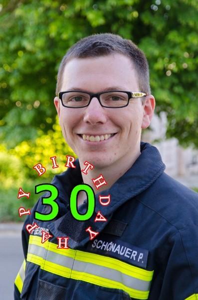 30. Geburtstag HBM Schönauer Patrick