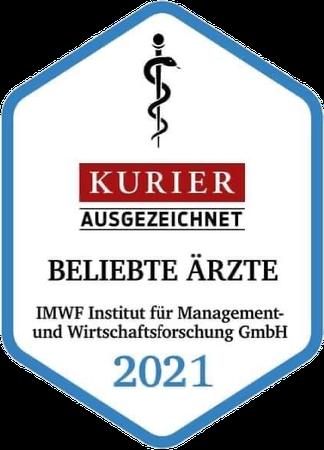 Beliebte Ärzte 2021 - Kurier