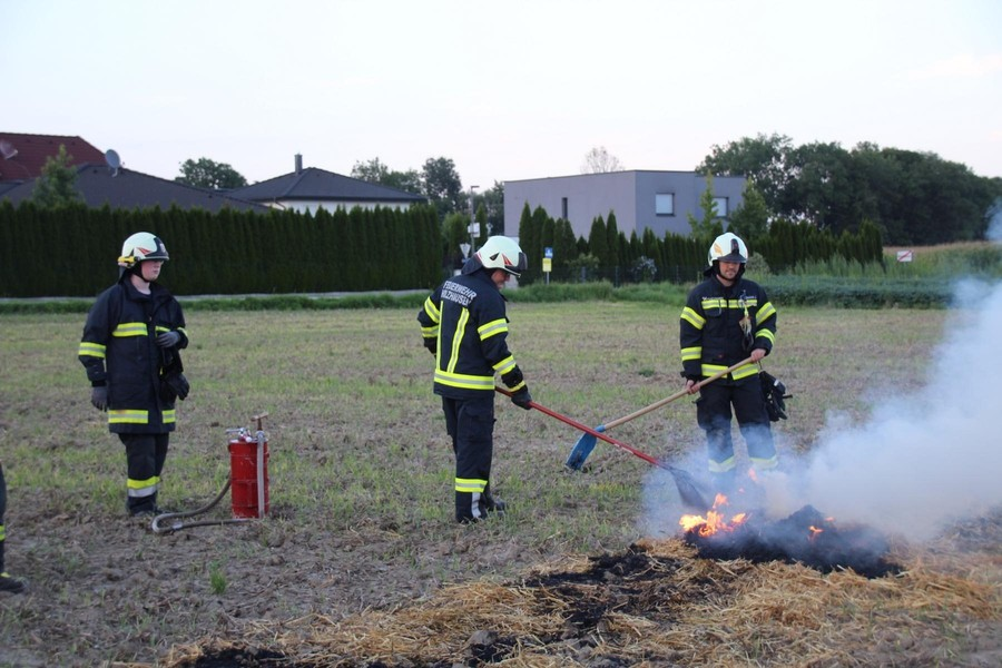Übung: Flächenbrand