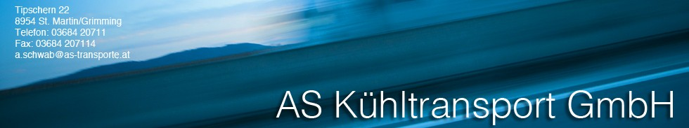 AS Kühltransport banner1