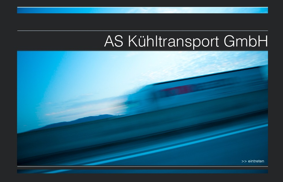 AS Kühltransport start