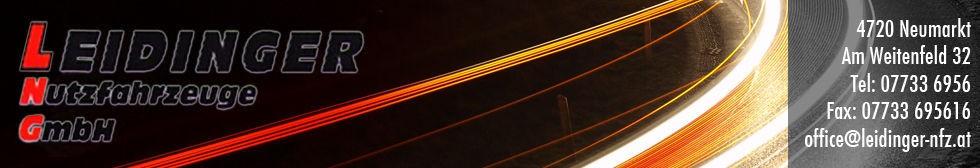 leidinger nutzfahrzeuge banner